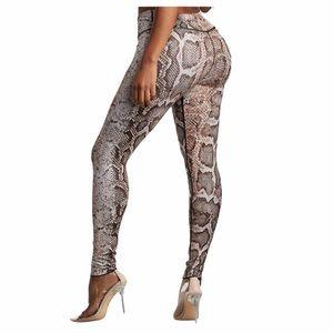 NWT True Religion snake print leggings size large